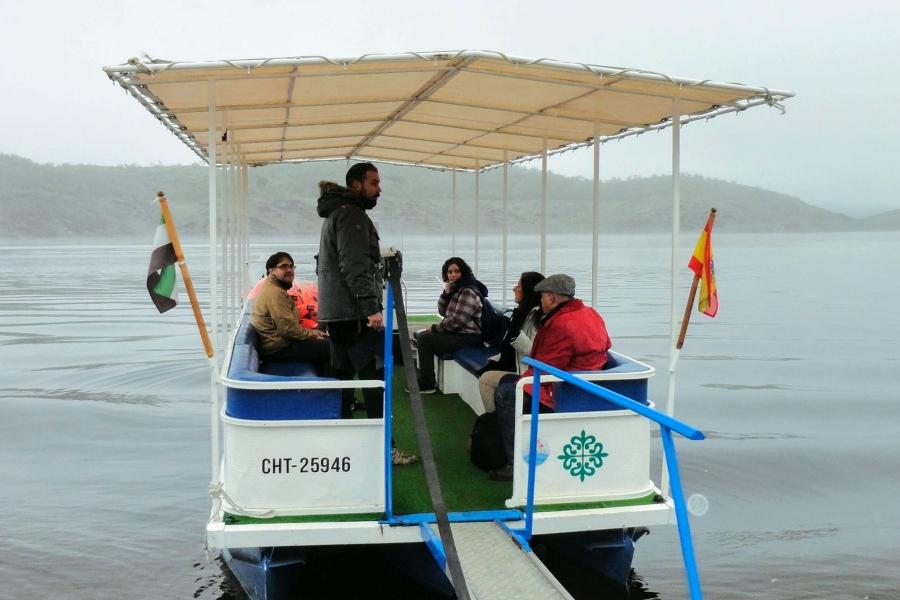Paseo en barco por el Tajo y el Alagón
