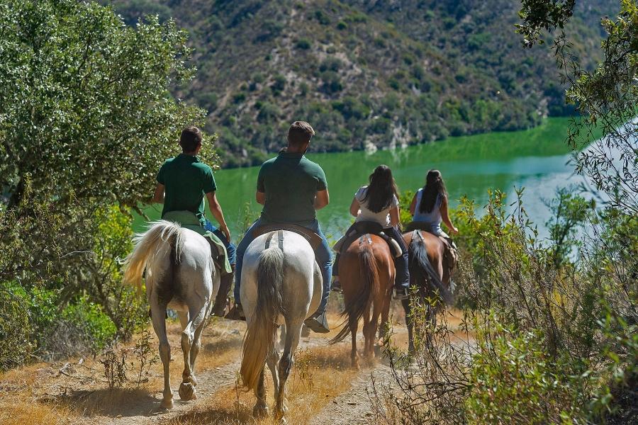 Paseo a caballo entre dólmenes