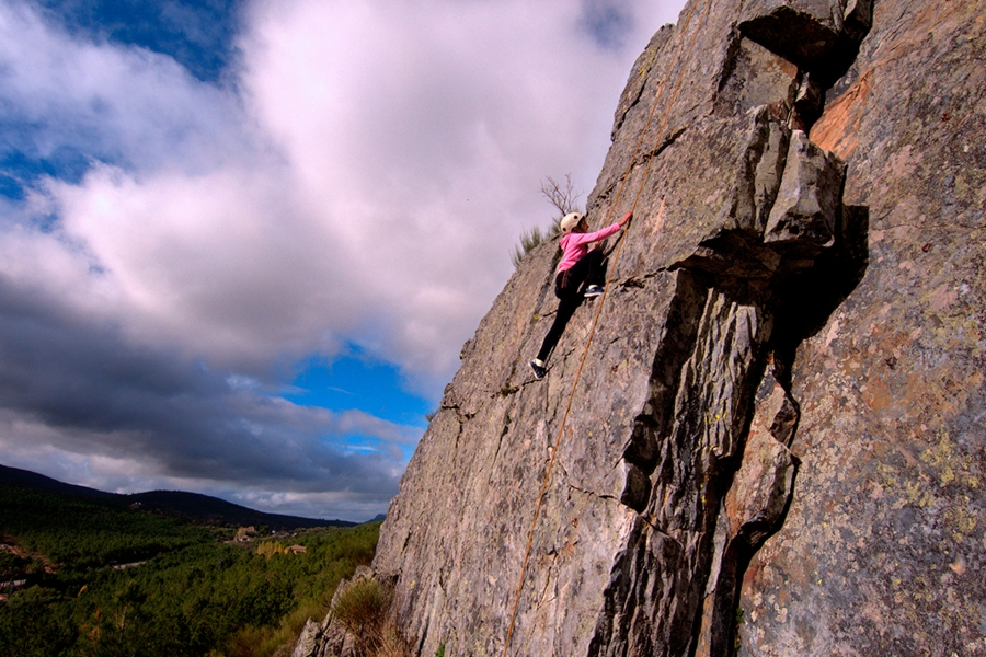 Iniciación a la escalada en la Reserva
