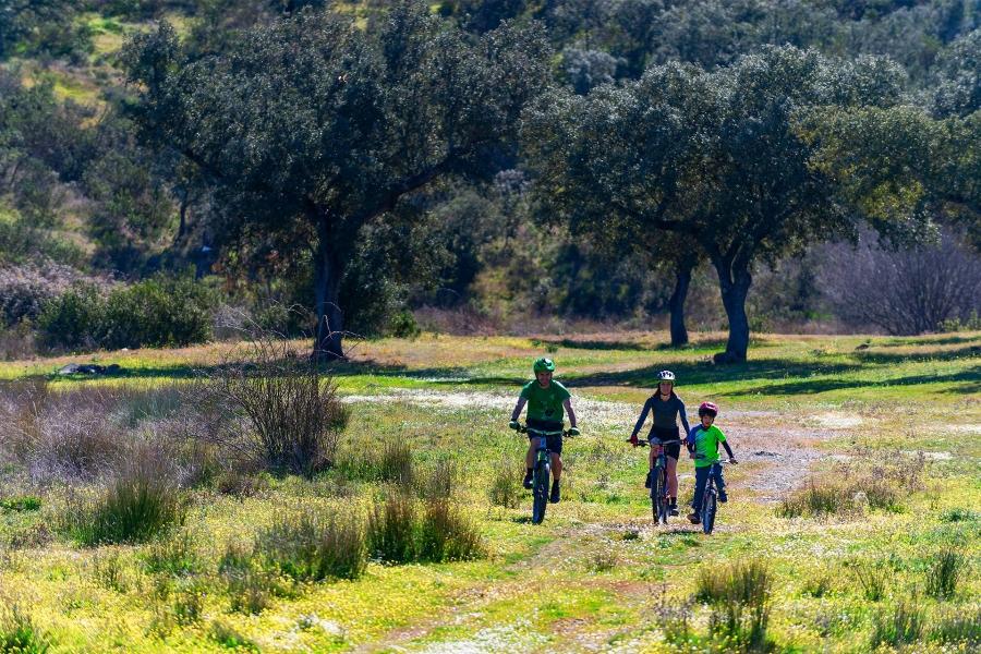 Ruta en bici eléctrica por el corazón de la Reserva