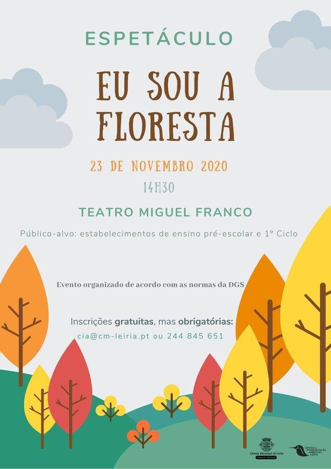 Espetáculo 'Eu sou a floresta'