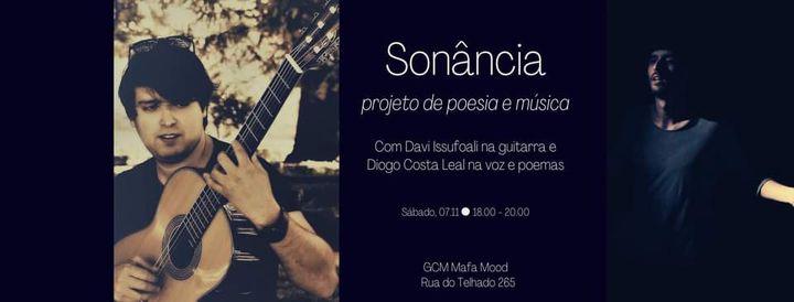 Sonância - Espetáculo de poesia e música