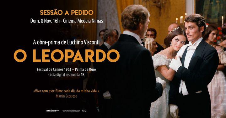 SESSÃO A PEDIDO: O Leopardo, de Luchino Visconti - Cópia Restaurada 4K