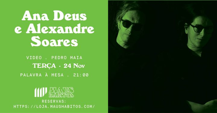 Palavra à Mesa: Ana Deus e Alexandre Soares #2