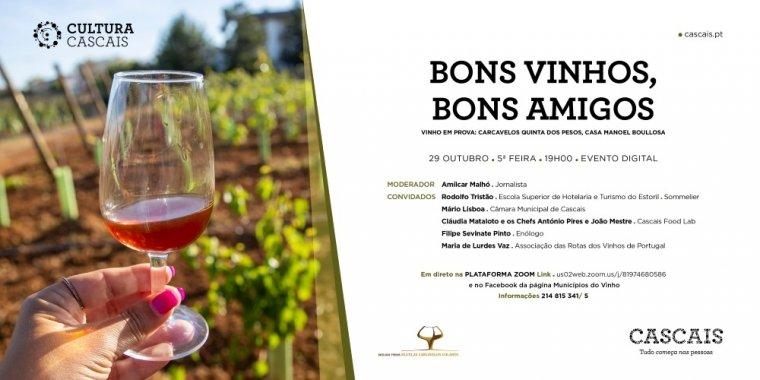 Bons Vinhos, Bons Amigos | Vinho em prova: Carcavelos Quinta dos Pesos (da Casa Manoel Boullosa)