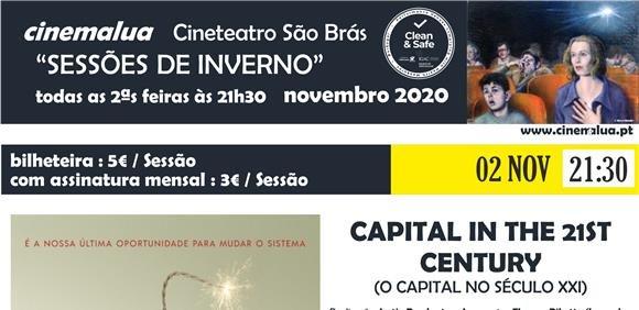 Cinemalua - Sessões de Inverno - O Capital no século XXI