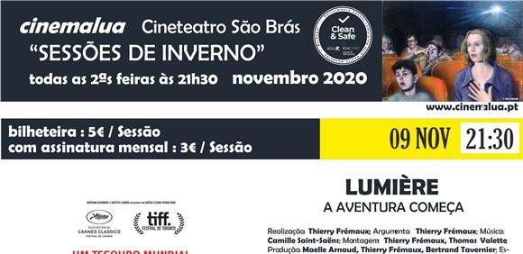 Cinemalua - Sessões de Inverno - Lumière!