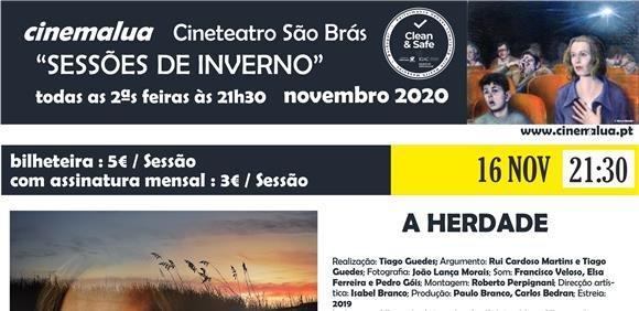 Cinemalua - Sessões de Inverno - A Herdade