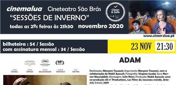Cinemalua - Sessões de Inverno - Adam