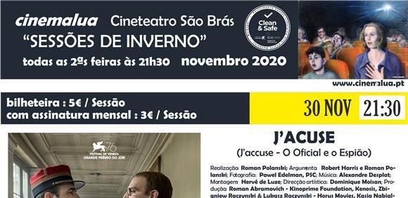 Cinemalua - Sessões de Inverno - J'Acuse