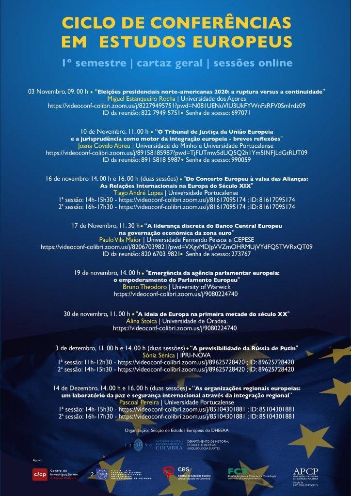 Ciclo de Conferências em Estudos Europeus