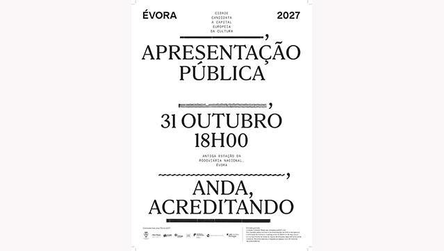 Évora 2027 - Cidade Candidata a Capital Europeia da Cultura