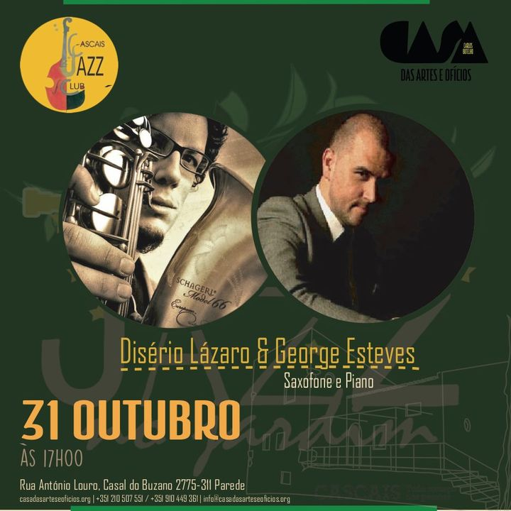 Concerto de Jazz com Desidério Lázaro e George Esteves
