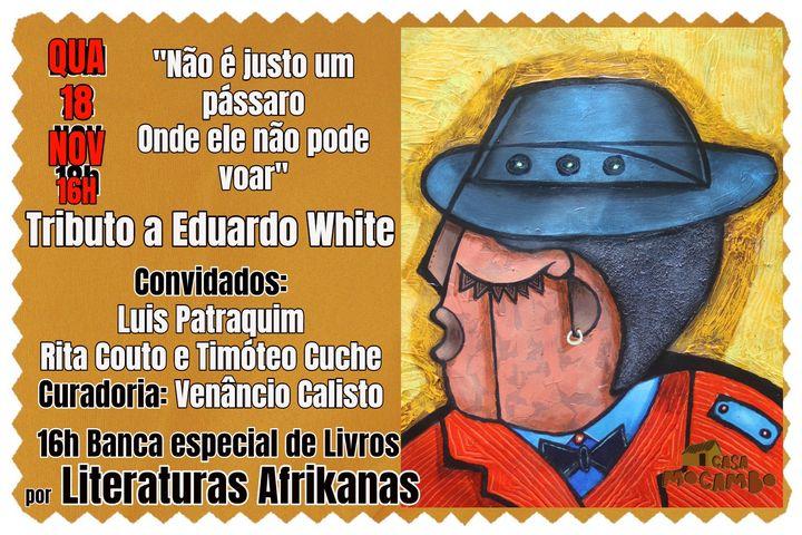 Tributo a Eduardo White -Jantar Performance Poética