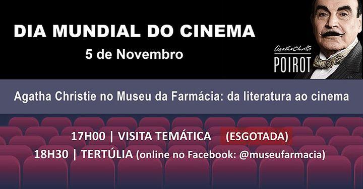 Dia Mundial do Cinema no Museu da Farmácia