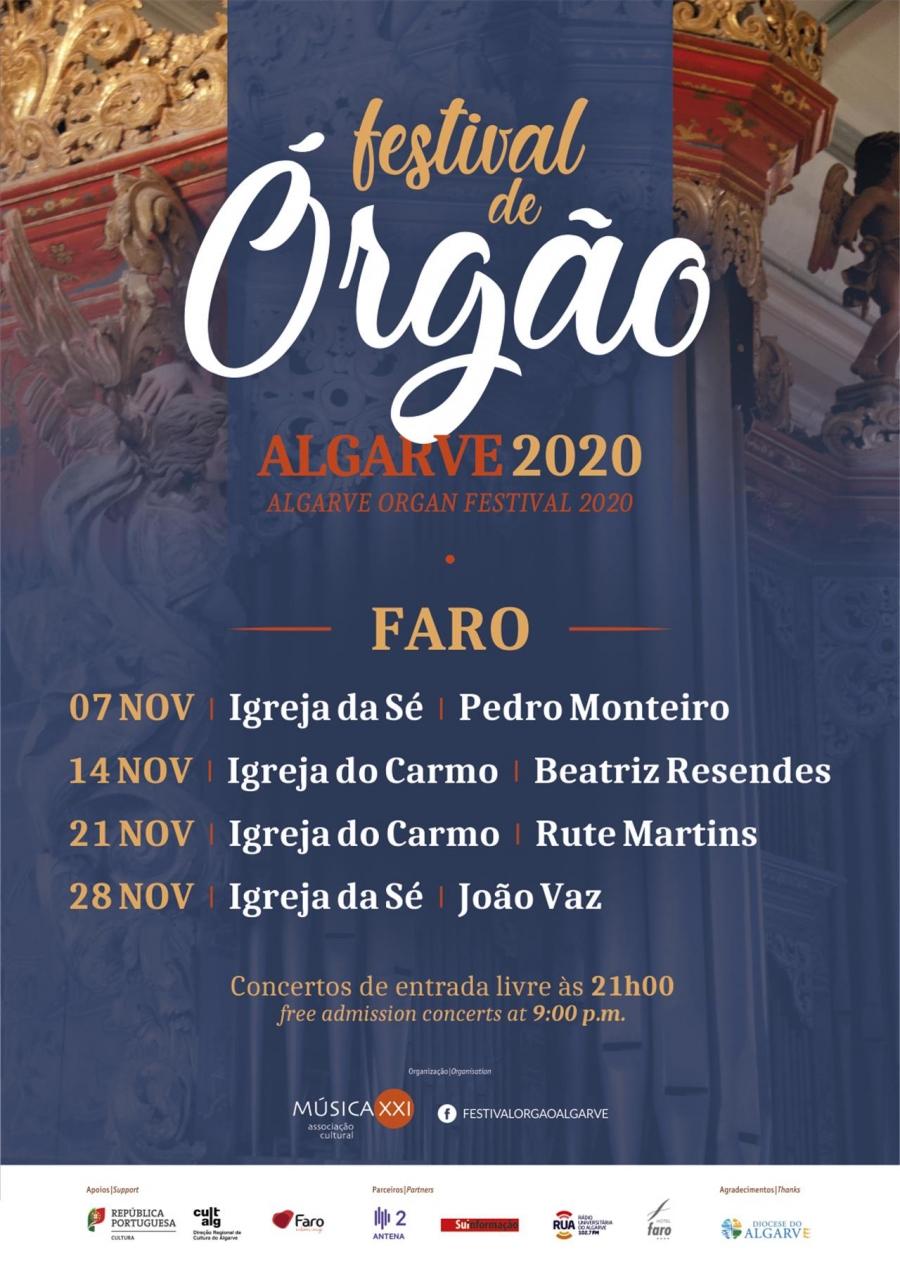 Festival de Órgão Algarve 2020