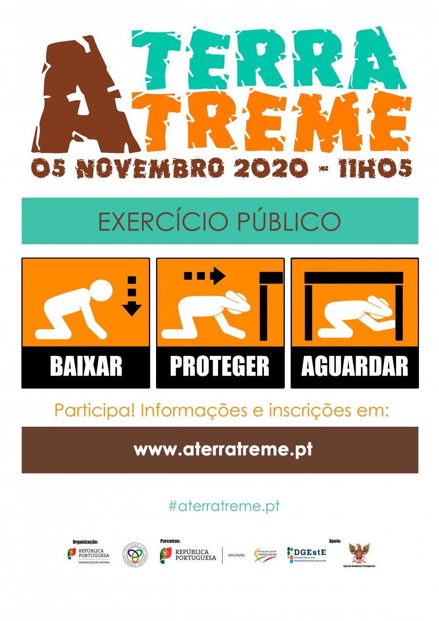 A Câmara de Vila Nova de Gaia associa-se ao exercício A TERRA TREME