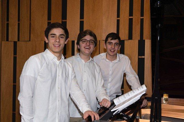 Novos Talentos - Francisco Lucena Pais, António Narciso & Mateus Barros - Piano