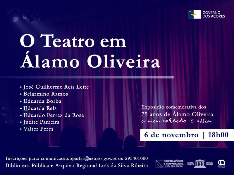 O Teatro em Álamo Oliveira
