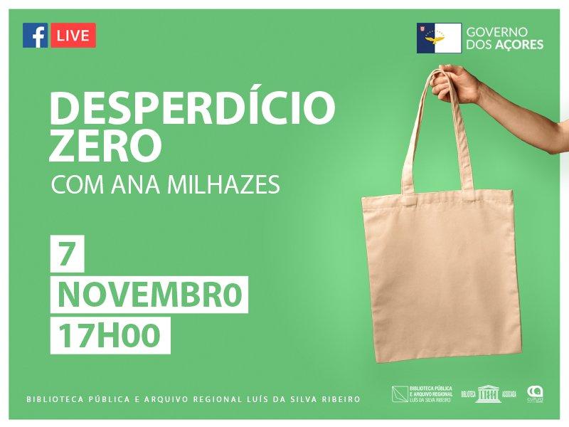 """Palestra """"Desperdício zero""""  com Ana Milhazes"""