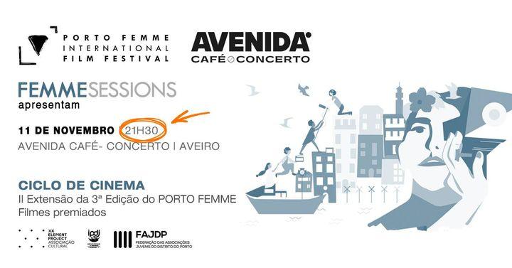FEMME Sessions #21 | Avenida Café Concerto - Aveiro