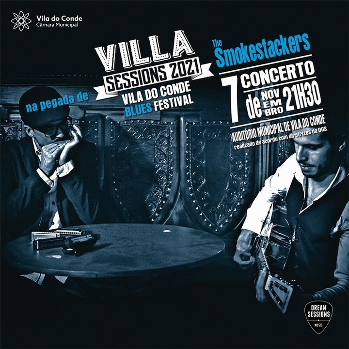 Blues volta a invadir Vila do Conde com concerto dos The Smokestackers