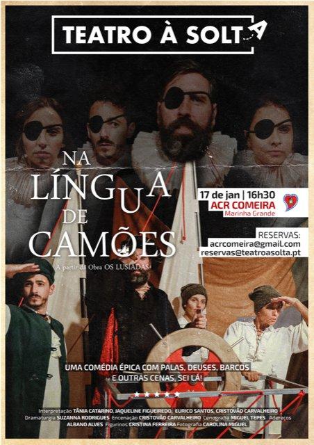 """Teatro """"Na Língua de Camões"""", pela ..."""