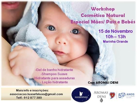 Workshop de Cosmética Natural