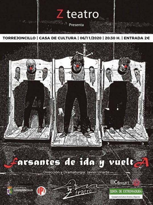 Farsantes de Ida y vuelta, de ZTeatro, en Torrejoncillo