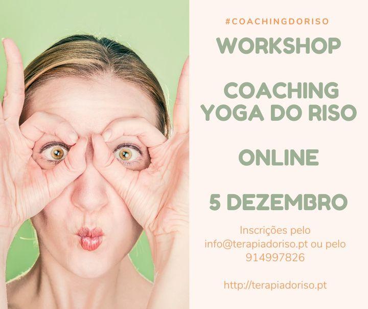 Workshop Coaching de Yoga do Riso - Online