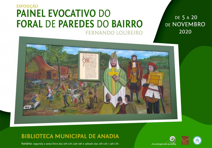 Exposição - Painel Evocativo do Foral de Paredes do Bairro
