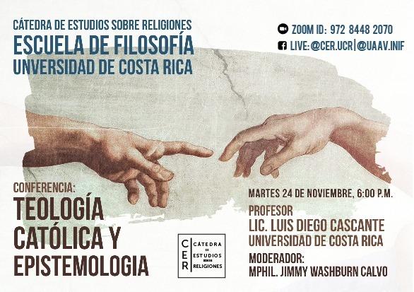 Conferencia: Teología católica y epistemología.