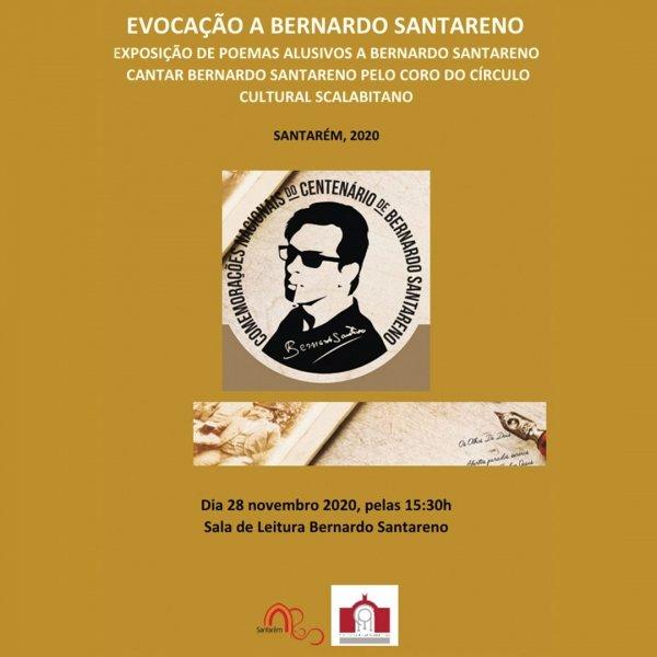 Cantar Bernardo Santareno e Exposição de Poemas sobre Bernardo Santareno