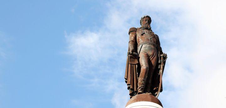 O Monumento a D. Pedro IV   Visitas e conversas