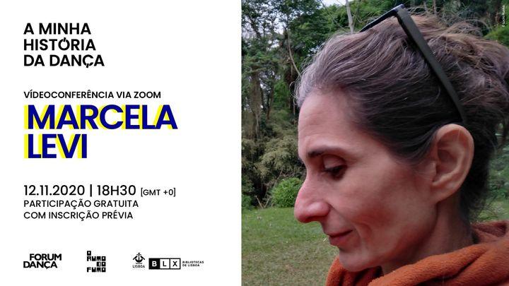 Palestra on-line A Minha História da Dança, Marcela Levi