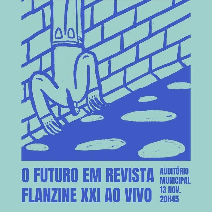 Revista Flanzine em Palco