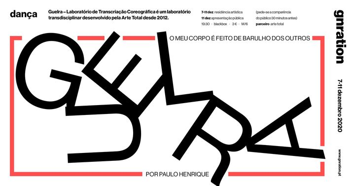 Guelra: Paulo Henrique [dança] | gnration