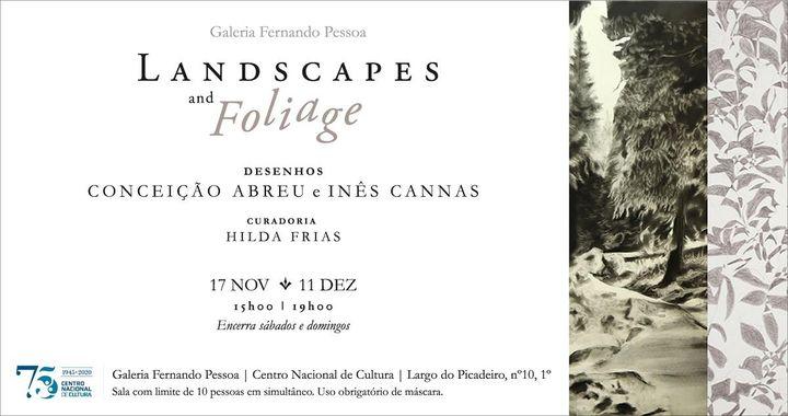 """Exposição """"Landscapes and Foliage"""""""