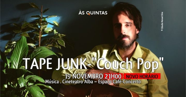 TAPE JUNK - 'Couch Pop' | ÀS QUINTAS