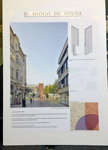 Exposição do Concurso de Ideias para Monumento Evocativo a D. Diogo de Sousa