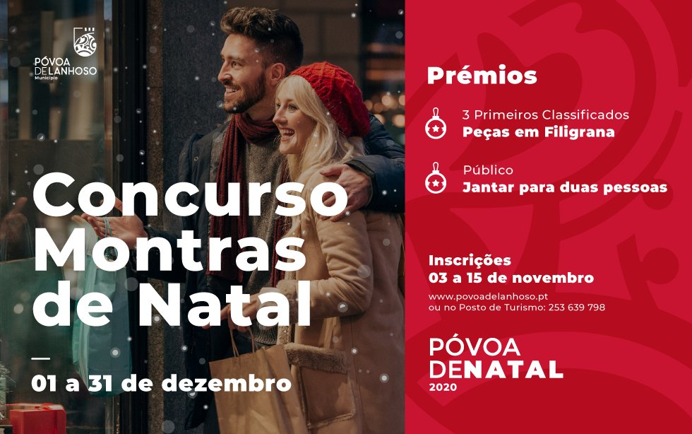 """Concurso de """"Montras De Natal"""""""