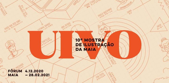 UIVO 10 - Mostra de Ilustração da Maia