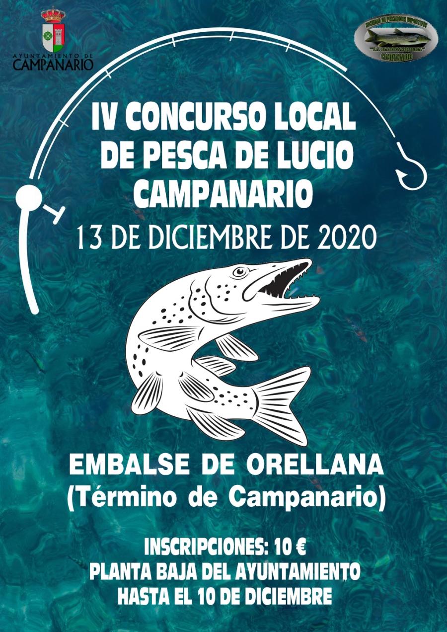 Concurso pesca lucio