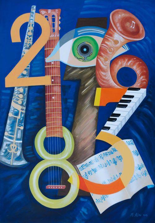 Pintura de um percurso de expressão pictórica I Exposição de Maria Aline