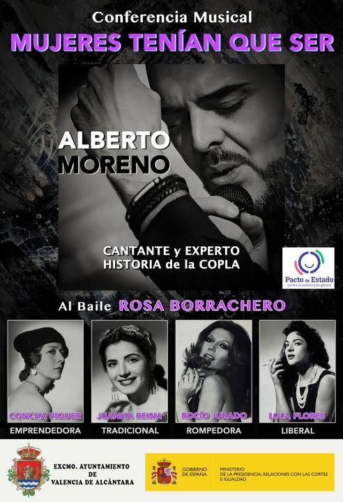 Conferencia Musical 'Mujeres tenían que ser' de Alberto Moreno