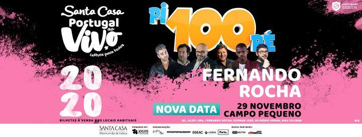 FERNANDO ROCHA - SANTA CASA PORTUGAL AO VIVO