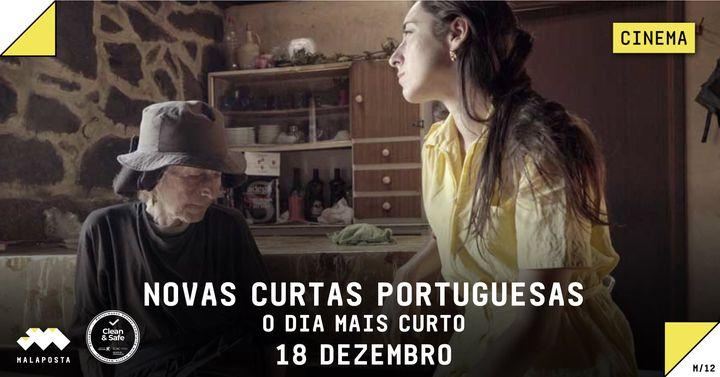 CINEMA | O Dia Mais Curto 'NOVAS CURTAS PORTUGUESAS'