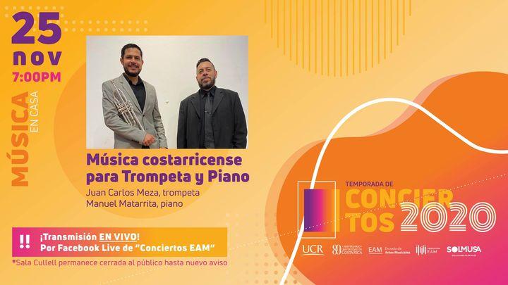 Música costarricense para trompeta y piano