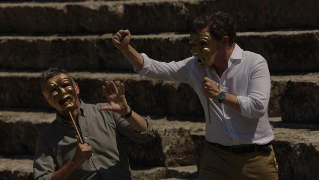 A VIAGEM À GRÉCIA, um filme de Michael Winterbottom