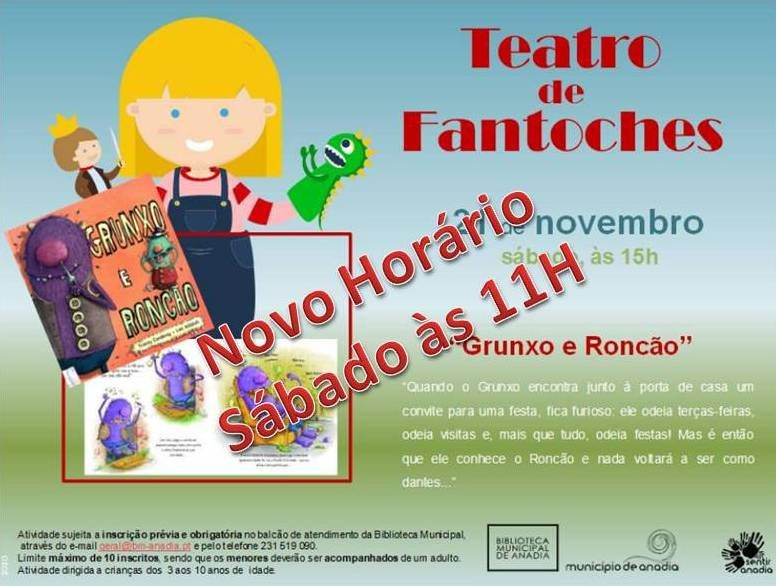 Teatro de Fantoches 'Grunxo e Roncão'